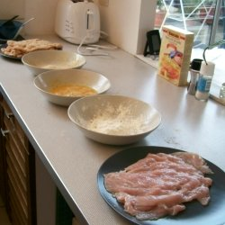 Wiener Schnitzel Recipe Assembly